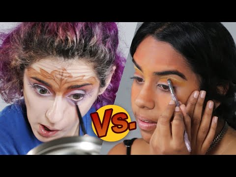 Thumbnail: Artist Vs. Beauty Lover • Makeup Challenge