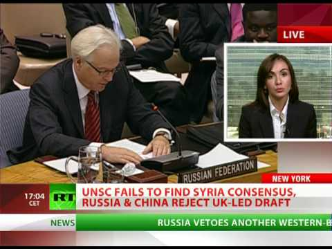 Russia, China veto western-backed Syria resolution at UN Security Council