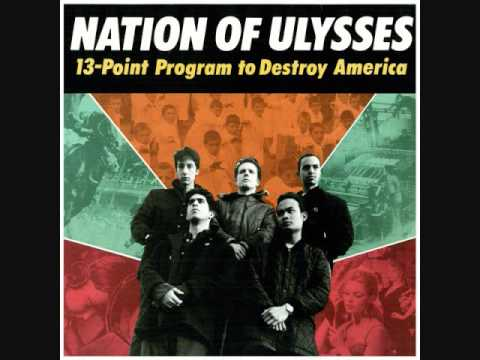 the nation of ulysses - 13 point program to destroy america lp