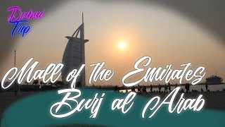 Burj al Arab und die Mall of the Emirates // Dubai Reise Vlog // Oktober 2016