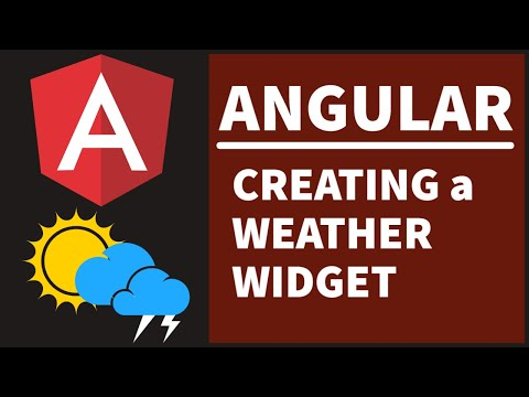 Lets Create A Weather Widget In Angular Using Open Weather Map Api
