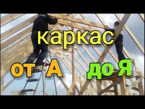 Строительство каркасного дома своими руками от а до я