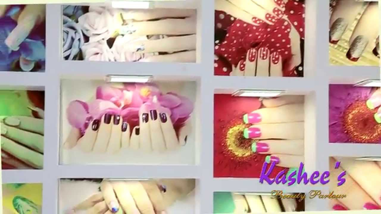 Exclusive Video Of Our Most Beautiful Nail Bar Of Kashees Beauty