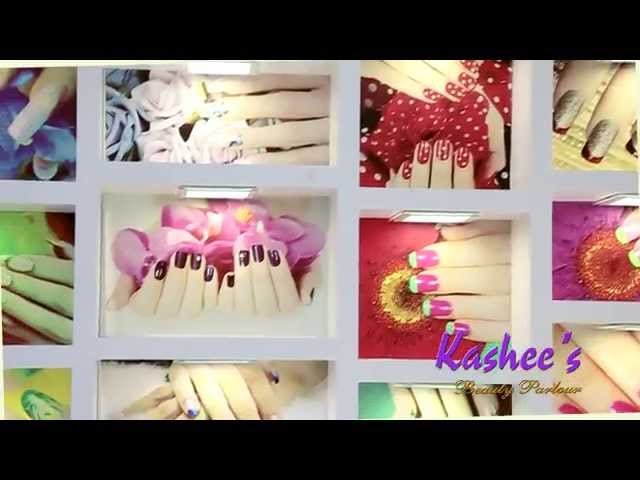 -Exclusive Video Of Our Most Beautiful #Nail Bar Of Kashees Beauty Parlor.