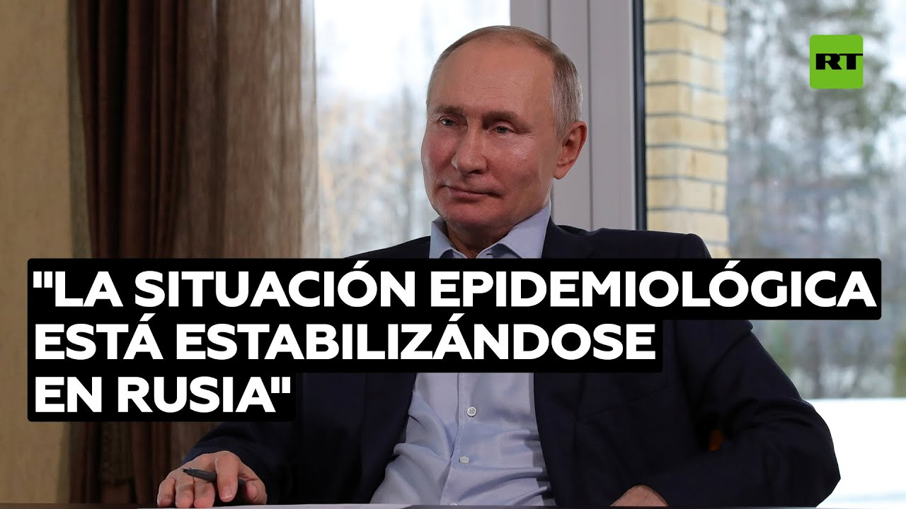 "Putin: ""La situación epidemiológica en Rusia se está estabilizando"""