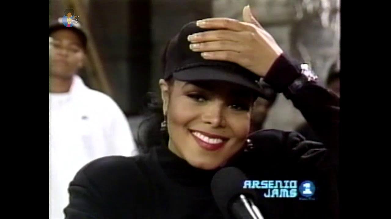 Janet Jackson Rhythm Nation Rehearsals (1990)