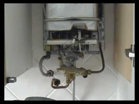 Bomba manual casera para meter antical en calentador e for Instalacion calentador gas