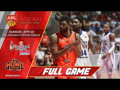 San Miguel Alab Pilipinas vs Mono Vampire | FULL GAME | 2017-2018 ASEAN Basketball League
