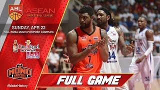 San Miguel Alab Pilipinas vs Mono Vampire | FULL GAME | 2017-2018 ASEAN Basketball League