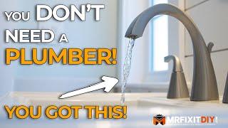 How to Install a Bathroom Faucet | A DIY Guide