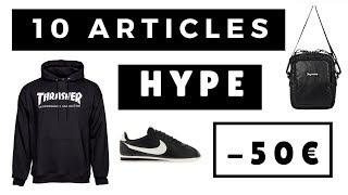 10 ARTICLES HYPE A MOINS DE 50€ | SOStyle