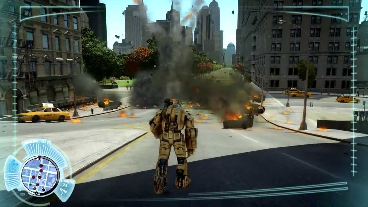 Gta Iv Iron Man Hammer Drone Armor Mod Hd Youtube