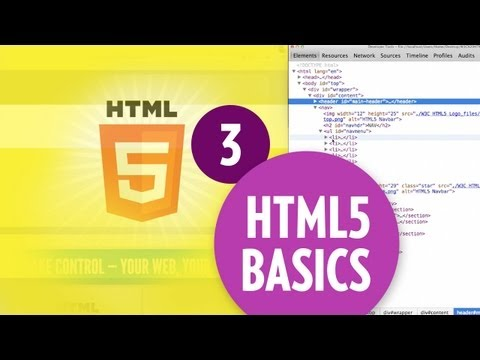 HTML5 Basics - The DOM (Part3)