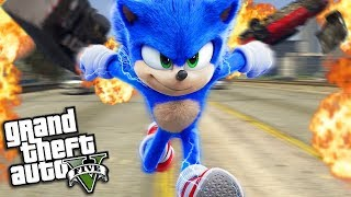 The NEW SONIC the HEDGEHOG Movie (GTA 5 Mods)