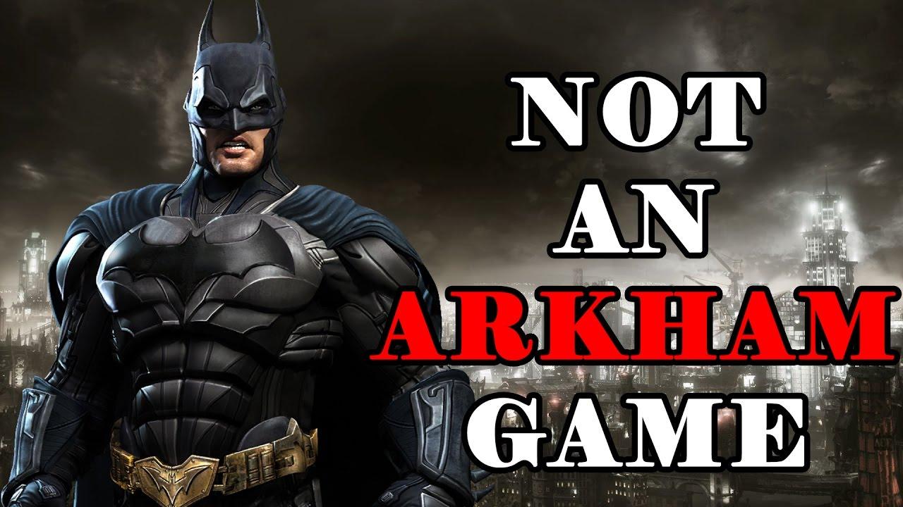 new batman game | GamesWorld