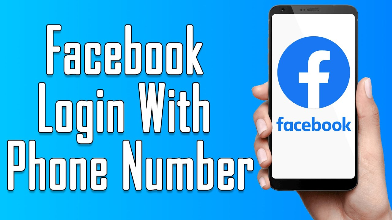 Login with phone number or facebook