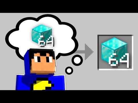 PENSE e GANHE o ITEM no Minecraft 💭💎