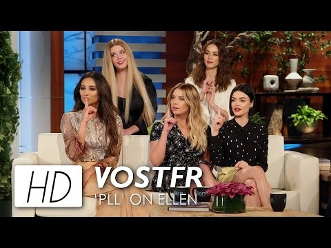 Pretty Little Liars on the Ellen  VOSTFR  PLLonEllen HD