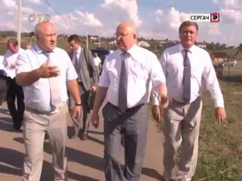Визит губернатора в Сергач