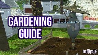 FFXIV 2.2 0325 Gardening Guide
