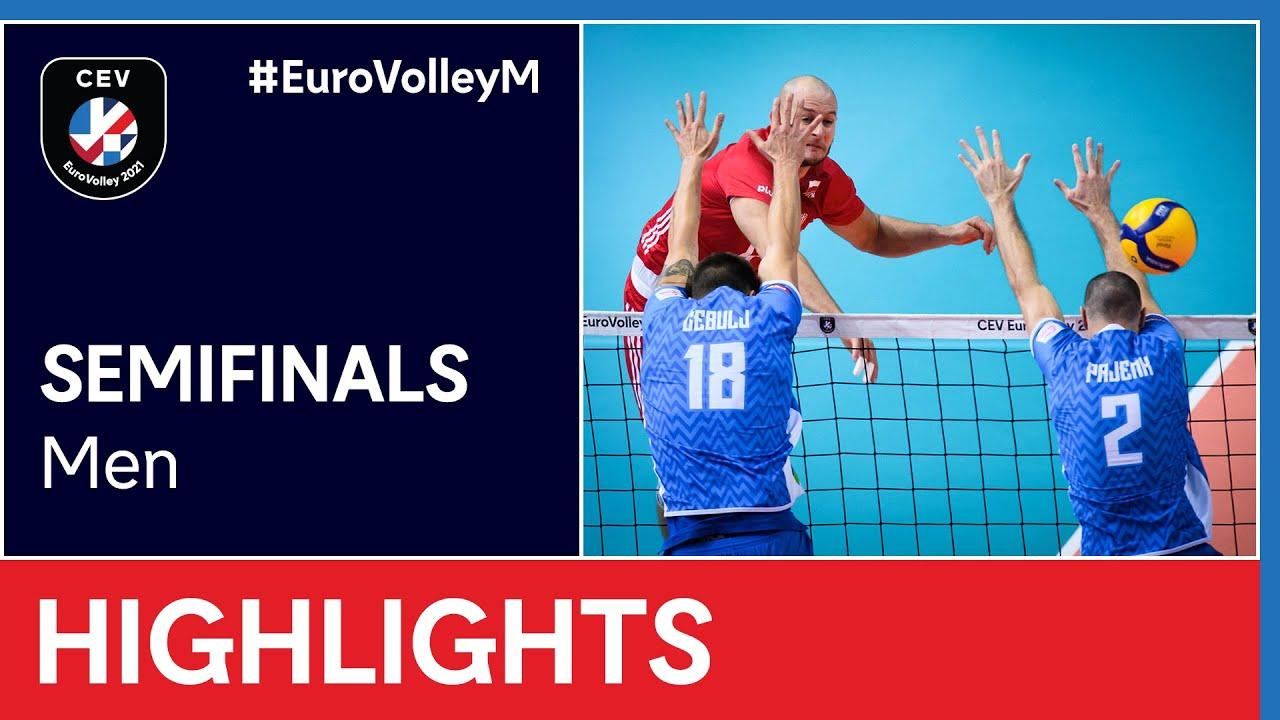 Poland vs. Slovenia Highlights - #EuroVolleyM