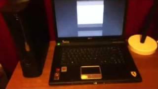 Acer Ferrari 4000 screen flitching