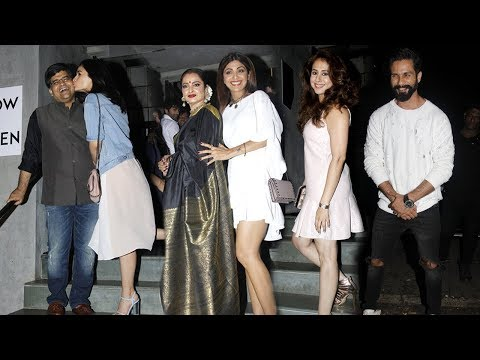 Alia Bhatt | Shahid Kapoor | Anushka Sharma & Many More SPOTTED At Jitesh Pillai's Birthday Party
