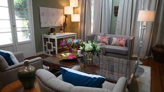 Inside The Mind Of The Designer: Kenneth Wingard On The Jackson's Livingroom Makeover.