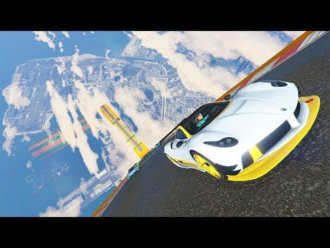 TOCANDO EL CIELO!!! - CARRERA GTA V ONLINE - GTA 5 ONLINE