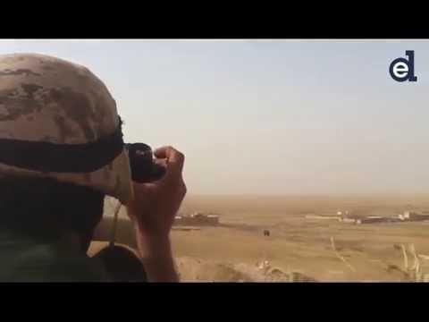 Ataque del ISIS contra posiciones donde combaten los 'cruzados' españoles