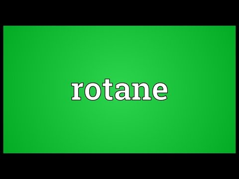 Rotane Meaning