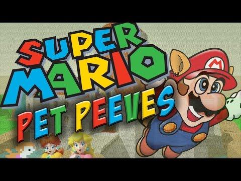 My 3 Biggest SUPER MARIO Pet Peeves