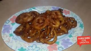 ইনস্ট্যান্ট জিলাপী তৈরির রেসিপি    InstantJalebi / Jilapi recipe    by Tuly Hasan