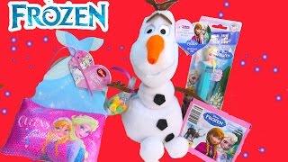 Queen Elsa Pez Candy Valentines Day Snowman Olaf Plush Princess Anna Stickers Cinderella Dress Haul thumbnail