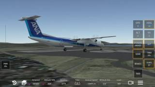 All Nippon airways bombardier dash8