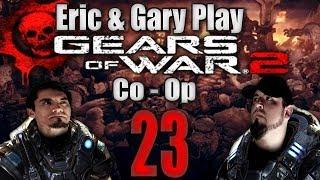 Let's Play Gears Of War 2: Co-op Story: Part 23 - Jacinto
