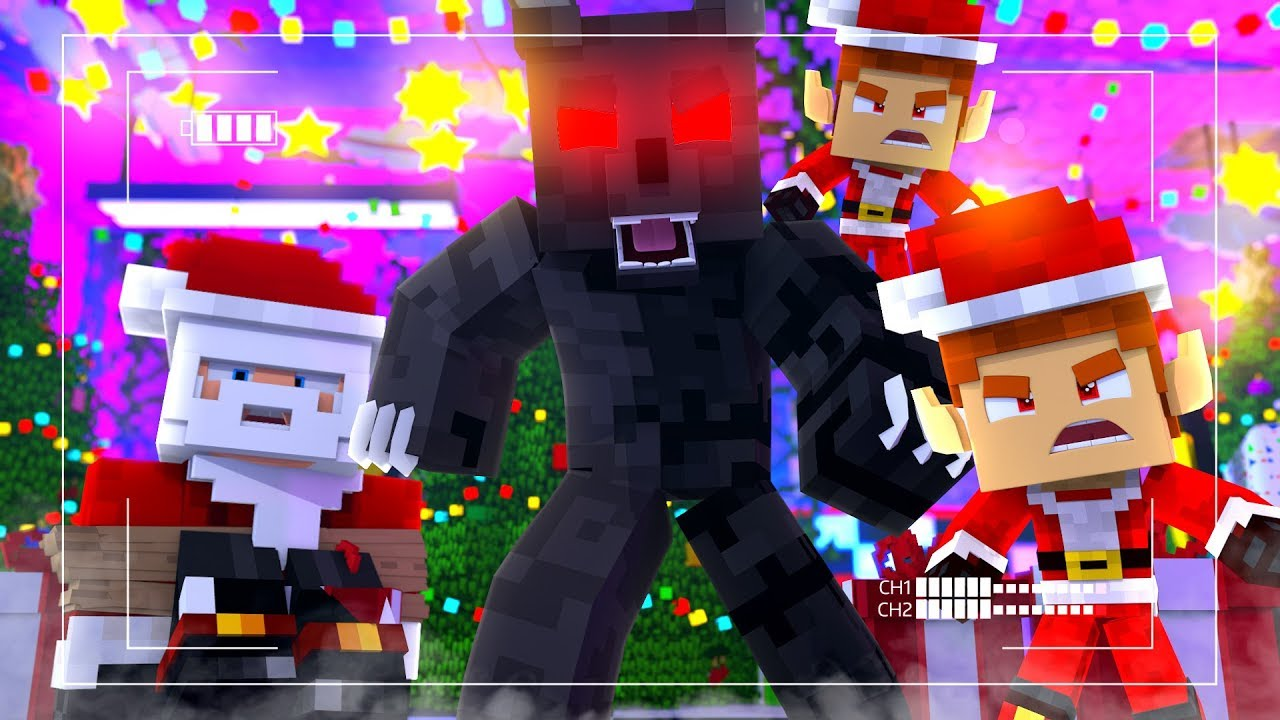 THE END OF CHRISTMAS ?!   Minecraft FNAF Christmas Special Roleplay