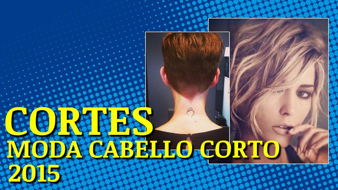 Cortes de cabello corto de moda pelo grueso 2017 YouTube