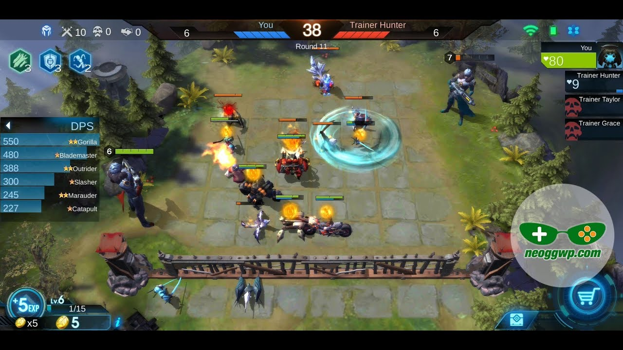 Arena of Evolution: Chess Heroes (Android APK) - Auto Chess Gameplay