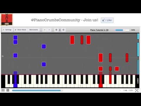 Django Unchained - Freedom (Original 2012 Movie Soundtrack) - Piano Tutorial