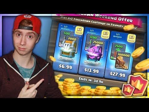 NEW BLACK FRIDAY SPECIAL OFFERS! MY BEST F2P DECK @ 5,000 TROPHIES! | RTC Ep. 21 | Clash Royale