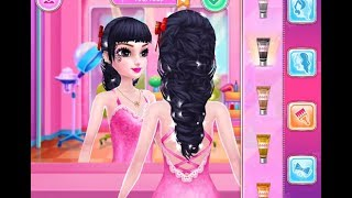 Best Games for Kids - Prom Queen iPad Gameplay HD Makeup Games Salon Hair Care Girls Fun Games HD