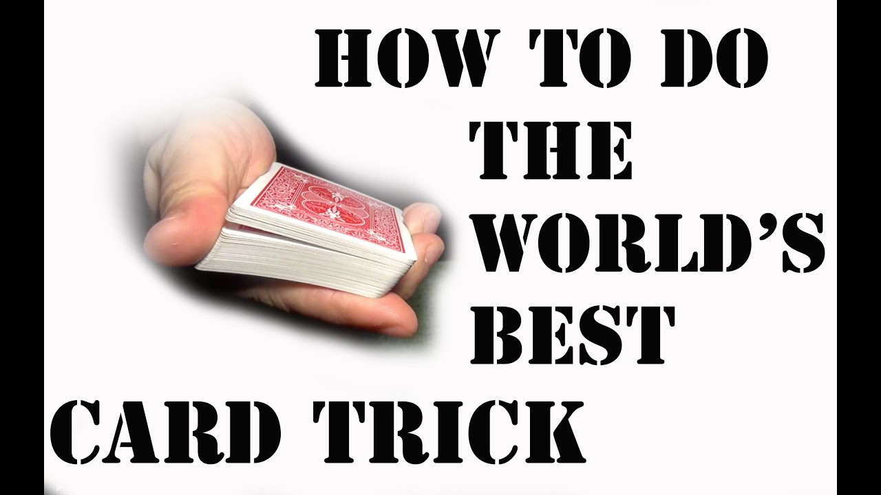 Best Card Tricks Revealed