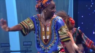Somebody Shout Hallelujah-Brenda--Afro-Caribbean Dance (ORU Chapel)