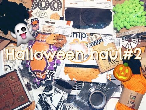Halloween Haul #2 | Tuesday Morning, Target, & TJ Maxx Sept.2016