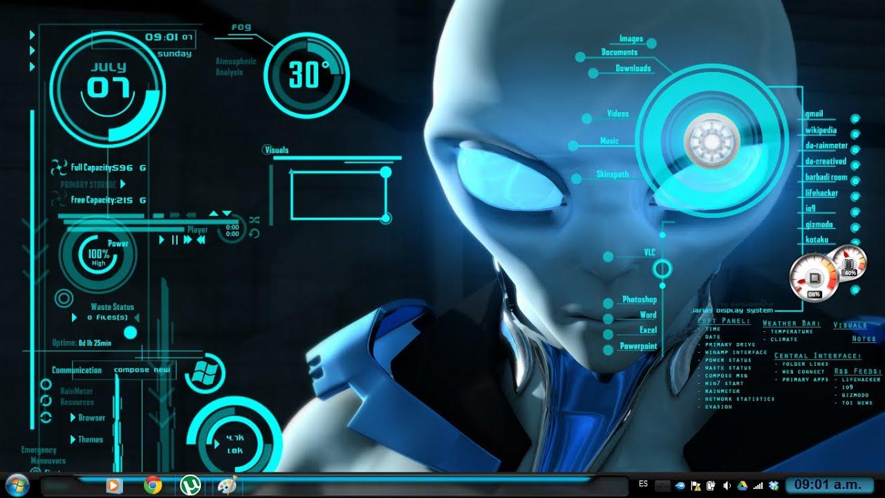 Personalizar mi escritorio estilo futurista windows 8 - Protector escritorio ...