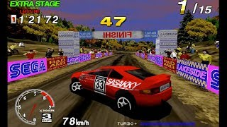 Sega Rally Championship-Reversed Tracks-ALL COMPLETE (ARCADE)