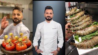 Seafood chef by chef Faruk GEZEN.