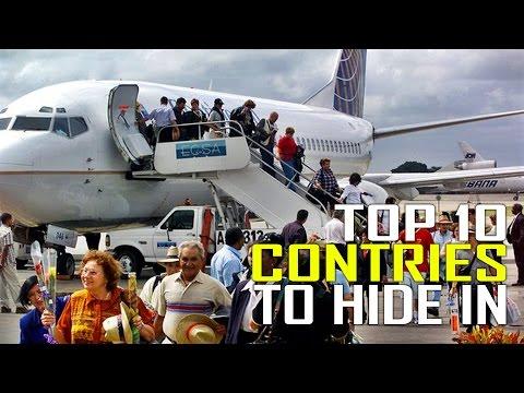 Top 10 Countries To Run Away