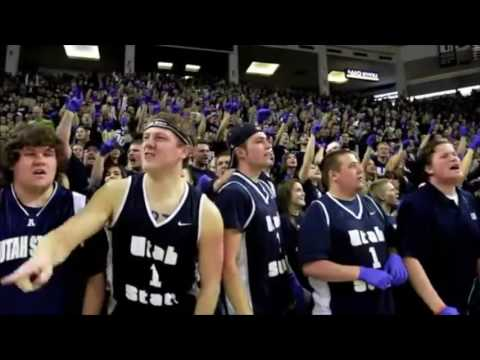 Football 12th Man Student Section Video